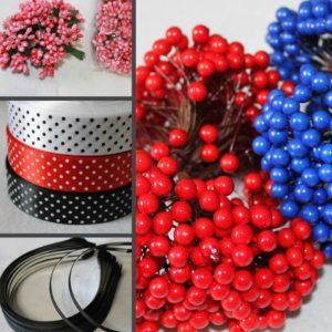Швейная фурнитура и товары для декора
